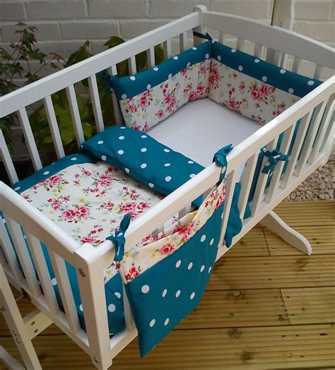 Shabby Chic Crib Bumper by Shabby Chic Floral Crib Cradle Bedding Bumper And By