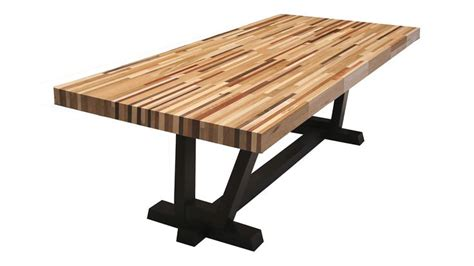 butchers block dining table best 25 butcher block dining table ideas on