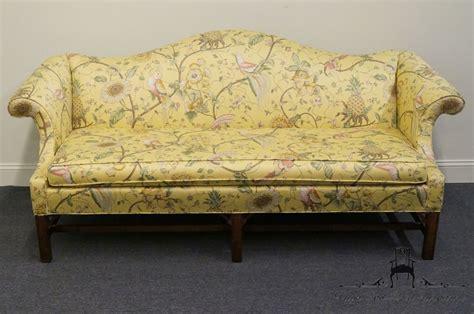 camelback sofa ethan allen ethan allen 80 camelback chippendale sofa ebay