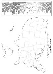 14 best images of states and capitals worksheets states