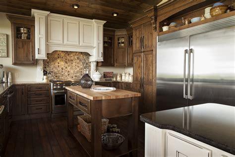 cabinets knotty alder kitchen alder pinterest knotty alder walnut with black glaze cabinetry shiloh