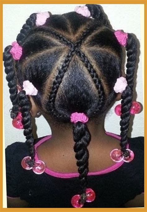 Lil Black Braiding Hairstyles by Black Braided Hairstyles For School