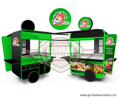 desain gerobak kebab gerobak dorong kebab umi lizan jasa gerobak bandung