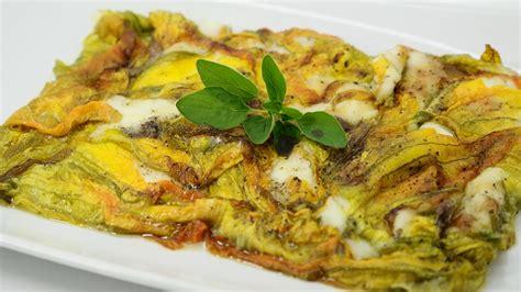 lasagne con fiori di zucca lasagnetta di fiori di zucca by paolo cavacece