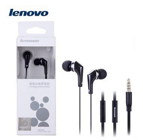 Lenovo Earphone Headphone Earphone Headset Speaker Phone lenovo original lh102 headphones for lenovo with microphone audio connector 3 5mm in ear