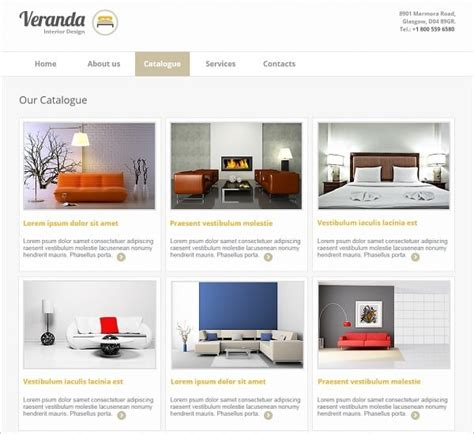 design house online catalog interior design website templates will spice up your life