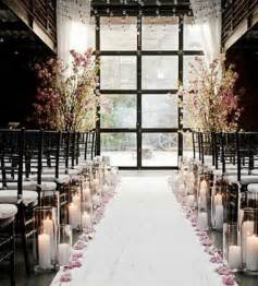 winter wedding aisle decorations 25 magical winter wedding ideas