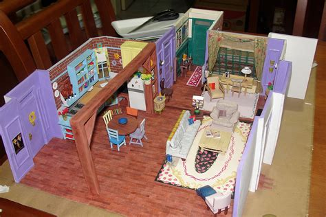 friends apartment amazing miniature model of monica s apartment in the tv
