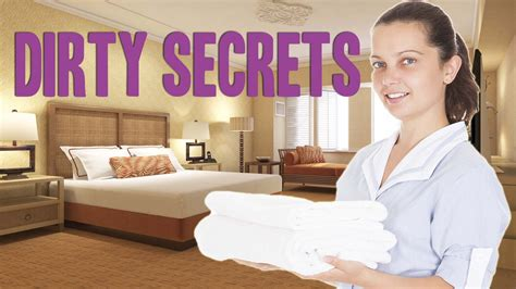 hotel cleaning secrets you need to know youtube