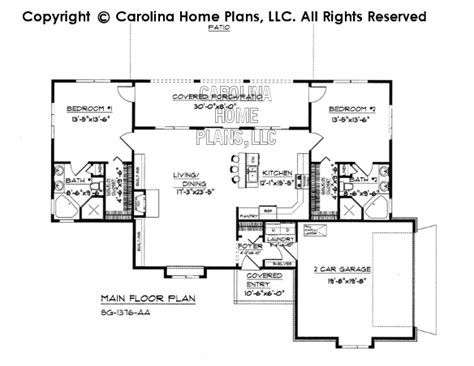 small florida house plans small florida style house plan sg 1376 sq ft affordable small home plan under 1400