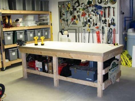 work bench diy wood projects furniture garage work