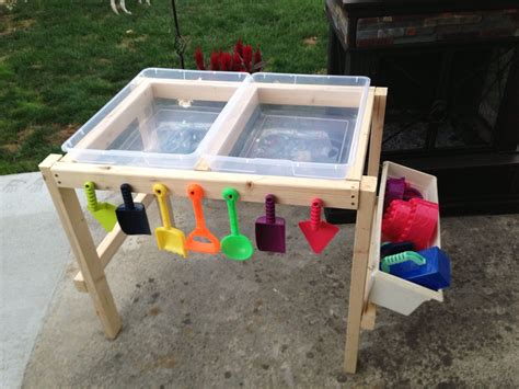 how to build a sand table water and sand table made by nana with love how to make