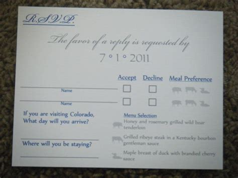 how to address a wedding rsvp card my beautiful nearly foolproof rsvp cards weddingbee