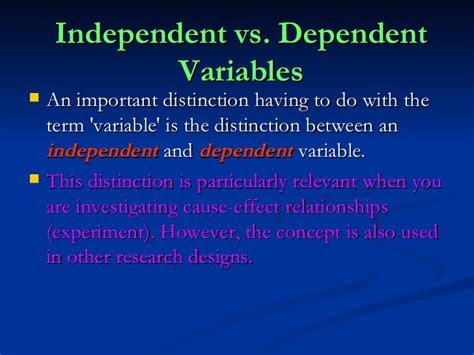 variables in research paper what is dependent variable in research paper