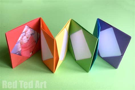 Origami Photo Album - mini origami photo album accordion photo book ted
