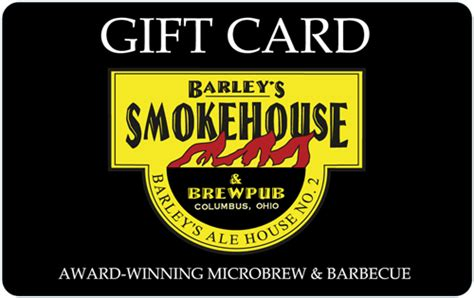 Gift Card To Any Where Template by Smokehouse Brewing Company Gift Cards