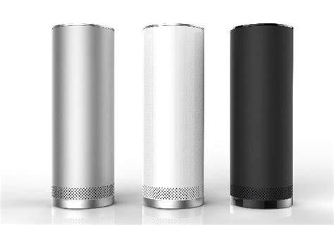 minimalist speakers stelle audio s pillar speaker features wireless streaming