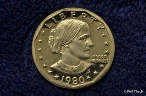 1980 susan b anthony dollar collector s proof coin