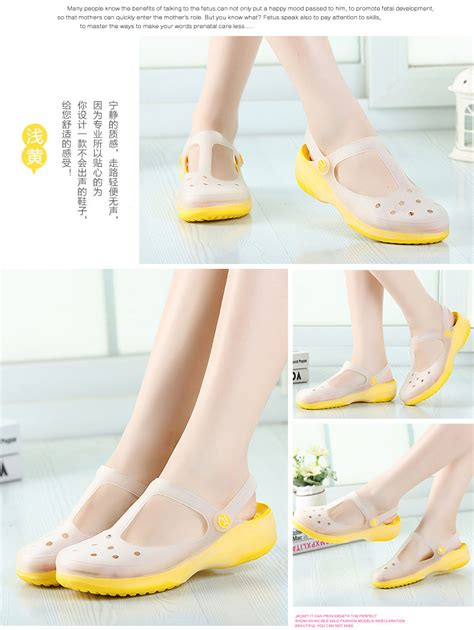 chagne sandals heels new womens sandals color change shoes summer croc