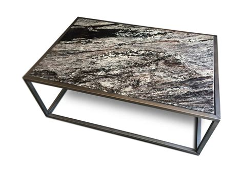 table with granite top contemporary granite top coffee table kb furnishings