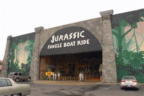 jurassic jungle boat ride website cheesy mannequins picture of jurassic jungle boat ride