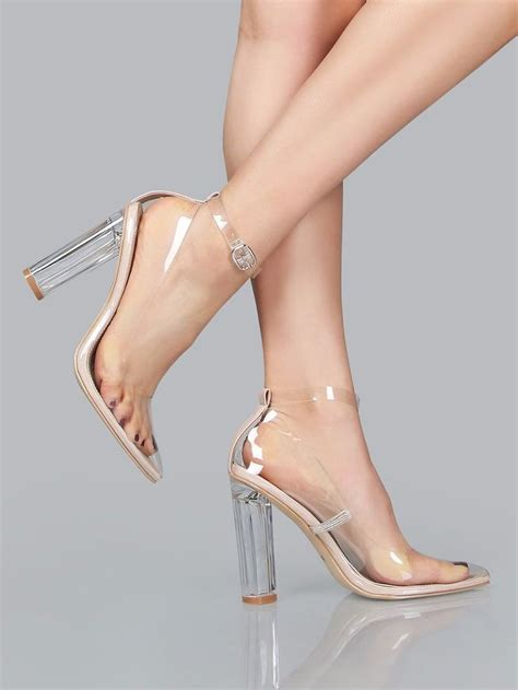rage high heels 115 best perspex shoe rage caperobbin images on