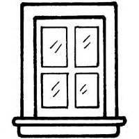 coloring page for window window coloring page coloring pages ideas