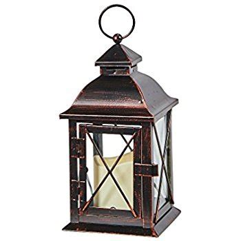 Outside Patio Lights Moroccan Solar Powered Led Garden Flameless Candle Lantern