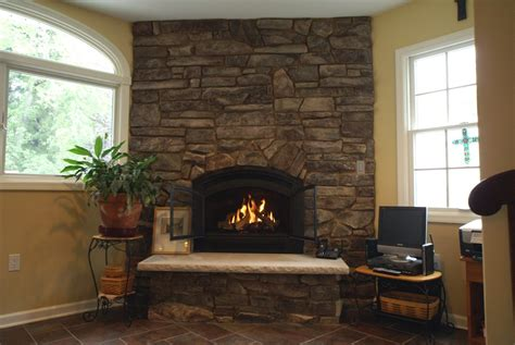 Wood In Gas Fireplace by Gas Fireplace Vs Wood Burning Fireplace Design