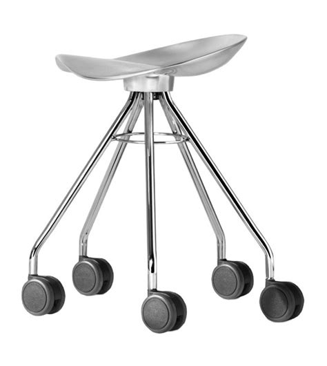 sgabelli con ruote jamaica sgabello con ruote bd barcelona design milia shop