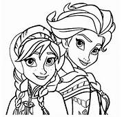 Desenhos Para Colorir Frozen  Educa&231&227o Online