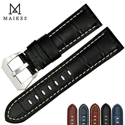 Fossil Me1121 Original Leather maikes new genuine leather band 22 24 26mm watchbands for fossil