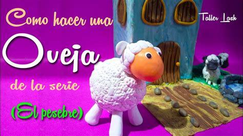 como hacer una oveja de la serie el pesebre