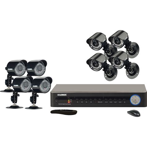 lorex by flir lh185 security system lh185 b h photo