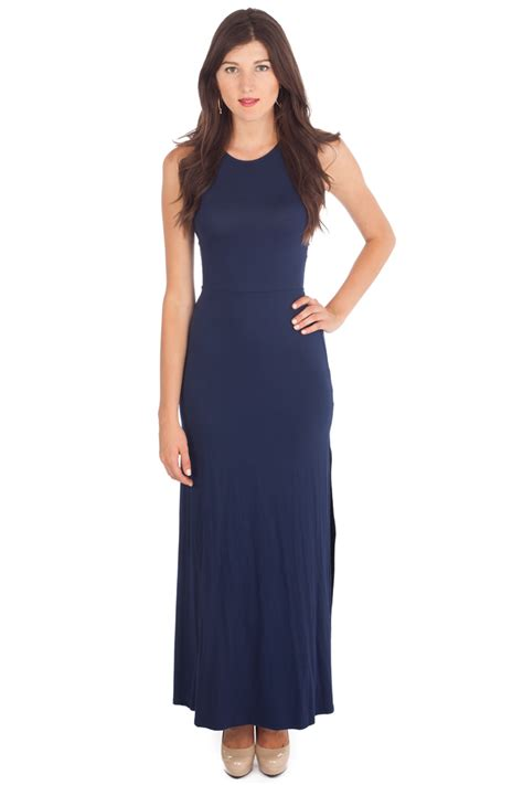 Casual In Navy Blue the gallery for gt blue casual dresses
