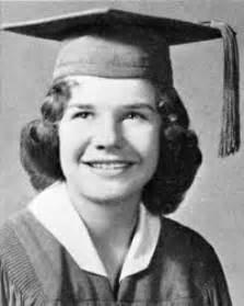 Janis joplin 1960 graduation portrait thomas jefferson high school