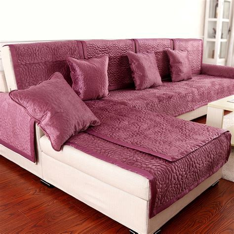 buy sofa cover aliexpress com buy 1pcs sofa cover fleece fabric soft