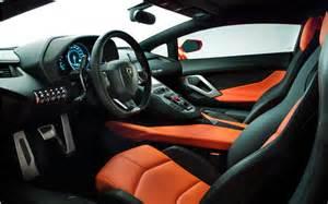 Lamborghini Aventador Interior Orange Lamborghini Aventador Interior