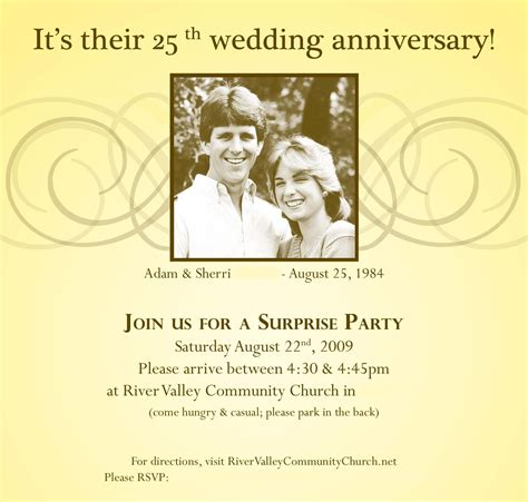 Invitation Letter Wedding Anniversary Pastor Anniversary Invitation Letter Invitation Librarry
