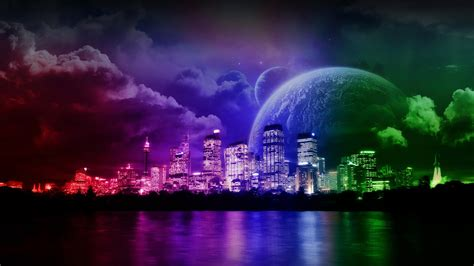 colorful city free city hd wallpaper images for desktop download