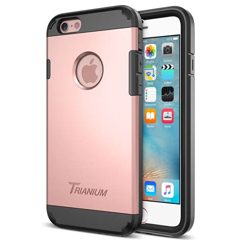 trianium duranium series for iphone 6s 6 gold
