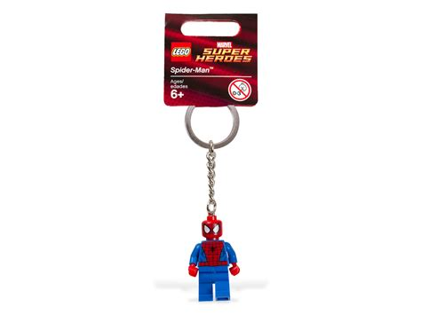 Keychain Besi Heroes Tipe 2 bricker construction by lego 850507 spider key chain