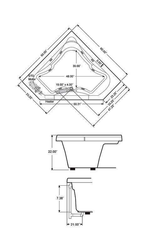corner bathtub dimensions corner bathtub dimensions quotes