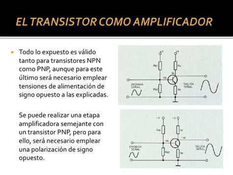 transistor bjt practica el transistor como lificador