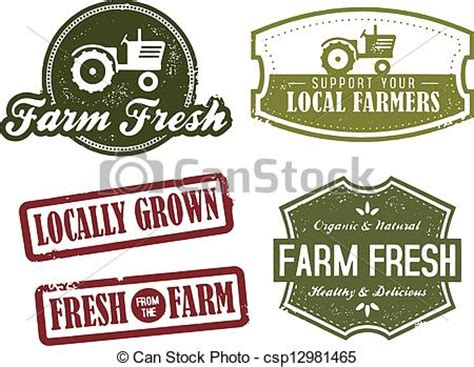 Country Themed Kitchen Ideas clip art vector of vintage farming and market fresh