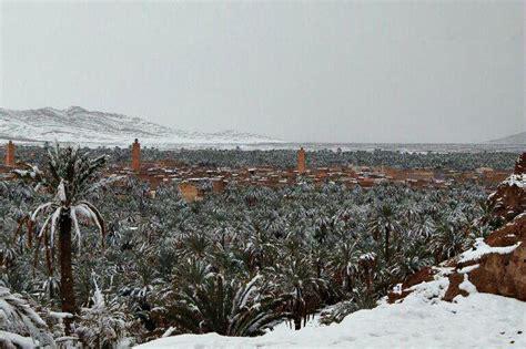 Snow In Sahara Neige Bechar Alg 233 Rie F 233 Vrier 2012 Journalistes 201 Crivains
