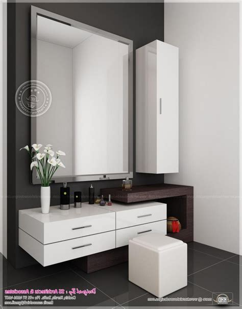 modern vanity table with mirror and bench dressing table minimalist and modern latest dressing table
