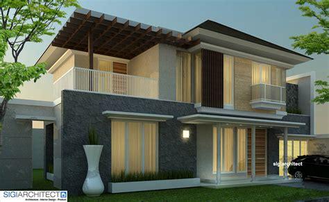 design villa minimalis bali desain villa minimalis tropis desain rumah 2 lantai