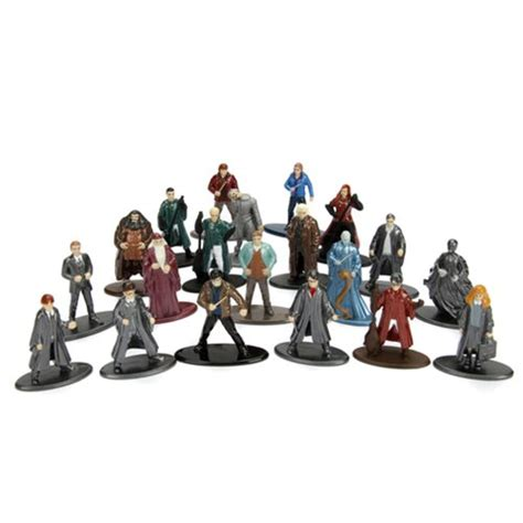 Mini Figure Harry Potter Harry Potter harry potter nano metalfigs die cast mini figures 20 pack