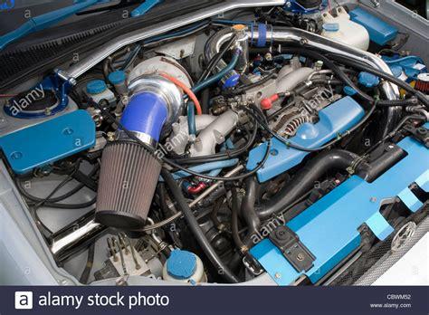 Subaru Ej Engine by Modified And Custom Subaru Ej 20 Wrx Engine With Large